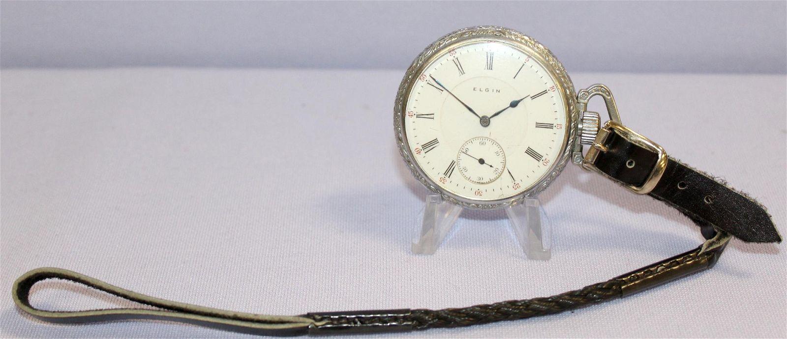 Elgin 17J 16S OF Pocket Watch
