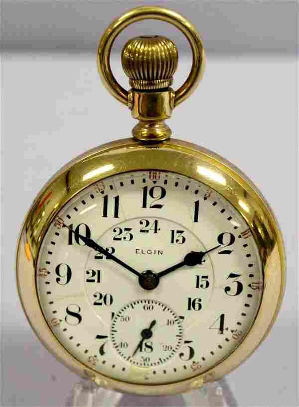 Elgin 19J 16S BW Raymond Pocket Watch