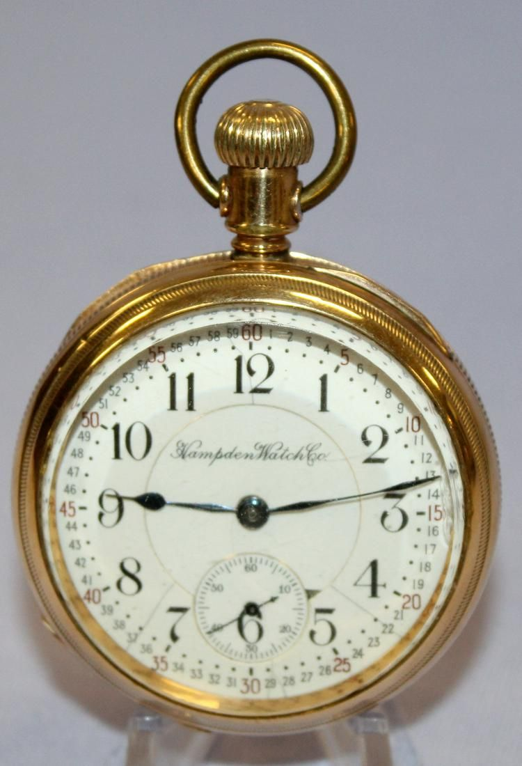 Hampden Railway Special 23J 18S OF Pocket Watch