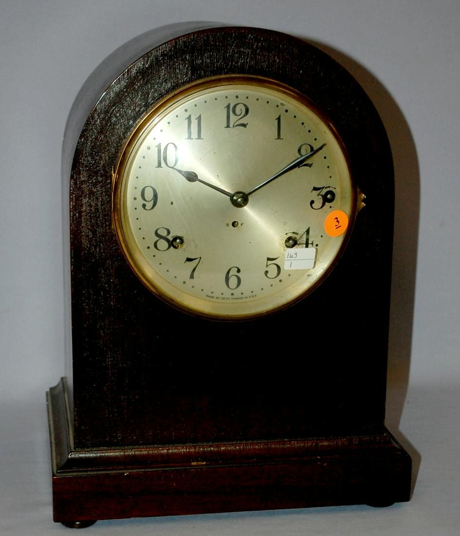 Antique Seth Thomas Westminster Chime Bracket Clock