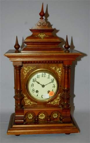 Antique Lenzkirch German Style Bracket Clock