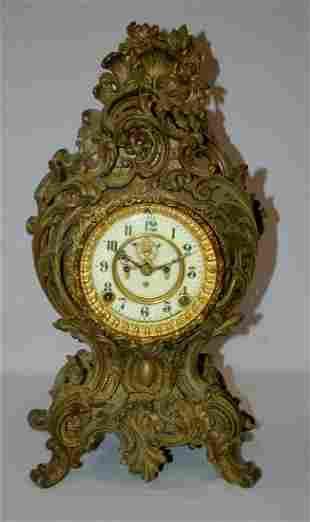 """Antique Ansonia """"Orienta"""" Mantle Clock"""