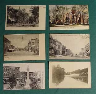 9 Tama Iowa Postcards IA River High School etc NR