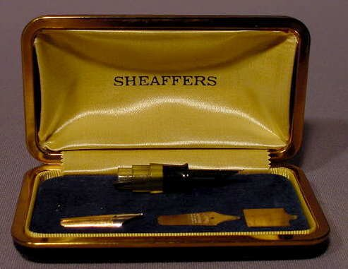 537: Cased Sheaffer's Nib Making Sample Dealer Display