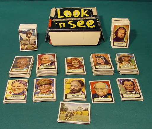 556: Look 'N See 1¢ Major Picture 1952 Topps Cards NR