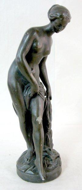 18: Ceramic Semi Nude Lady Figure