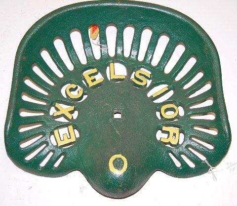 59A: Cast Iron Excelsior Implement Seat