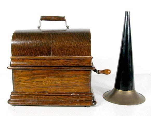 86: Edison Standard Model D Cylinder Phonograph