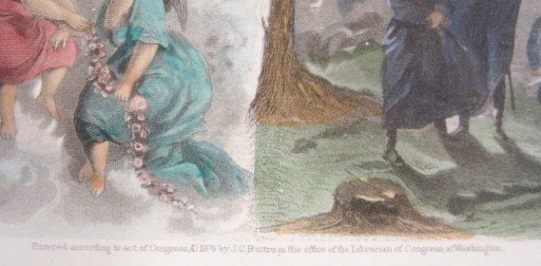 88A: J. C. Buttre Framed Mr. & Mrs. George Washington - 5