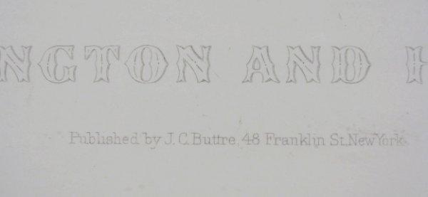88A: J. C. Buttre Framed Mr. & Mrs. George Washington - 6