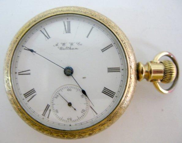 8: American Waltham 18S OF LS Pocket Watch