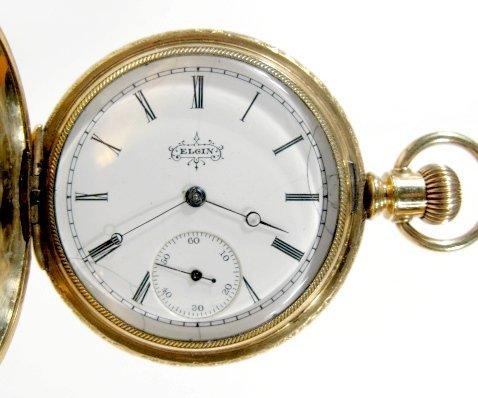 13: Elgin 12S No.5143678 GF HC Pocket Watch