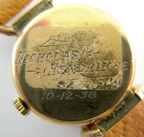 14: Agassiz 14K 17J Wrist Watch - 3