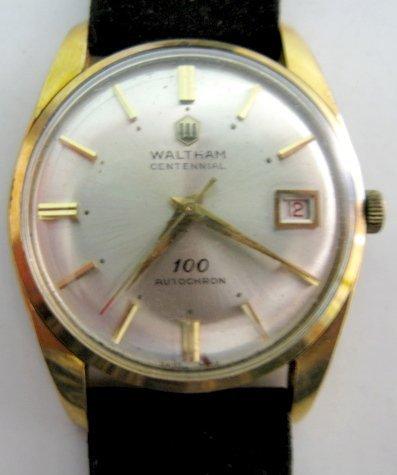 75: Waltham Centennial Autochron Wrist Watch