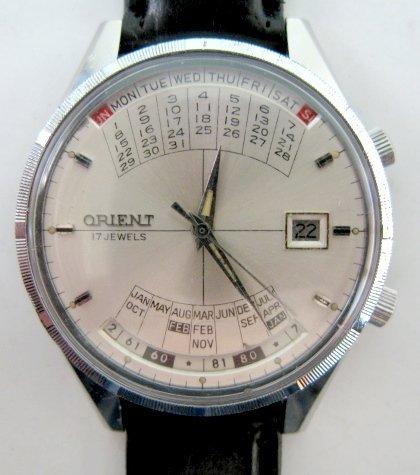 110: Orient & Wittnauer Multi Year Calendar W. Watches - 2