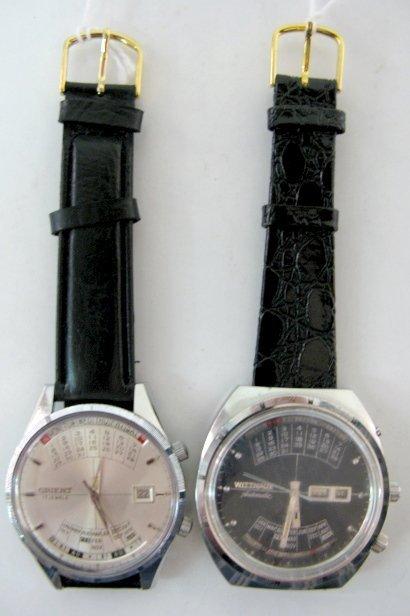 110: Orient & Wittnauer Multi Year Calendar W. Watches - 7