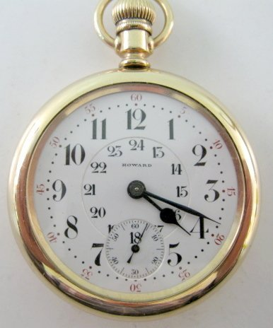 110A: Howard Series 10 21J Pocket Watch