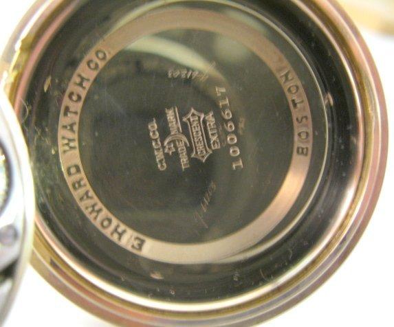 110A: Howard Series 10 21J Pocket Watch - 4