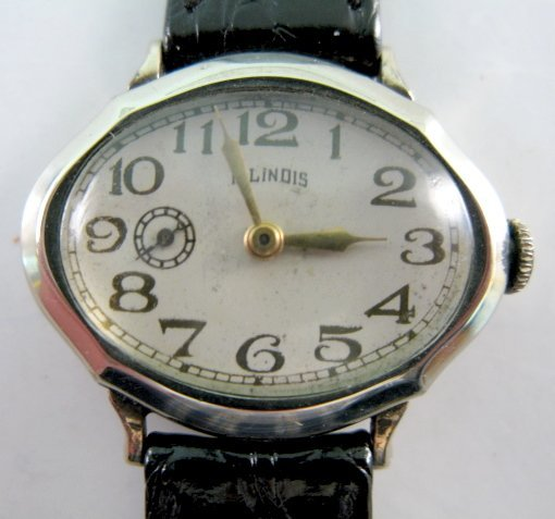 119: Illinois Piccadilly 15J Wrist Watch