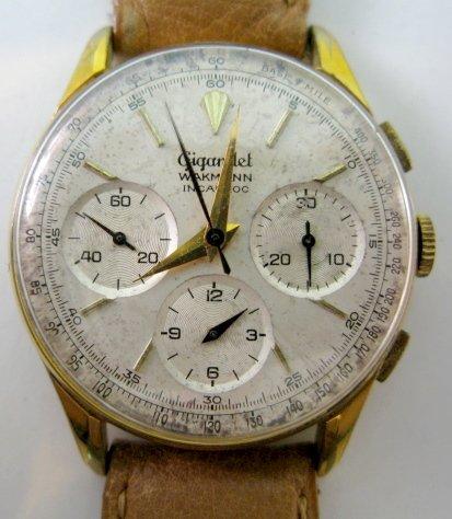 160: Gigandet Wakmann Chronograph Wrist Watch