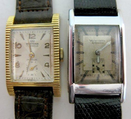 318: Wakmann & Wyler-Vetta Wrist Watches