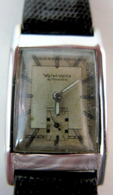 318: Wakmann & Wyler-Vetta Wrist Watches - 3