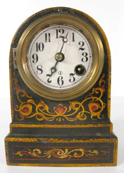 1: Terry Clock Co. Iron Clad Time Only Clock