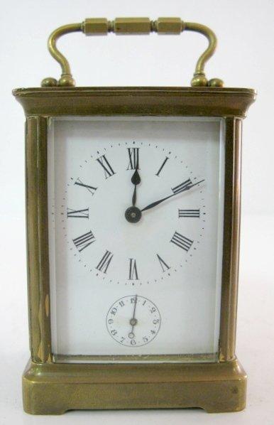 2: French Carriage Clock w/Alarm