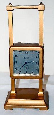 4: Ansonia Bronze Gravity Clock