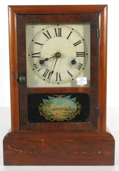 10: Seth Thomas Rosewood Cottage Clock