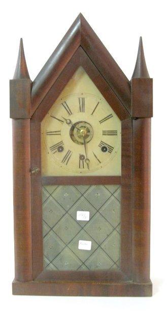 21: Wm. Stevenson Double Fusee Steeple Clock