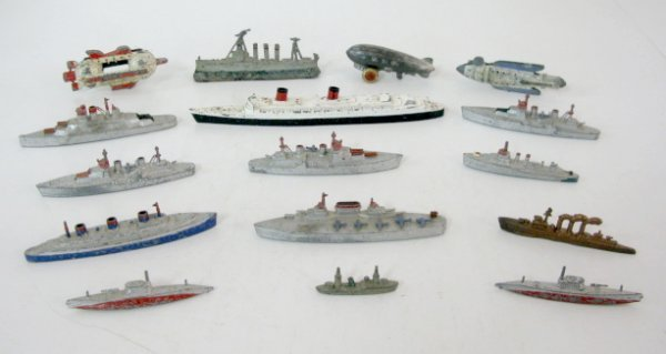 2: 16 Die Cast, Brass & Lead War Vessels