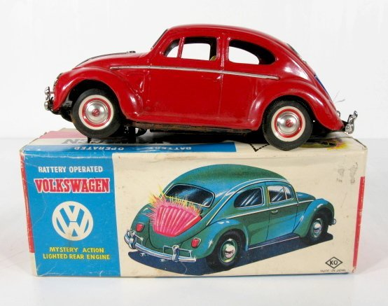 17: B.O. Mystery Action Volkswagen Toy Car