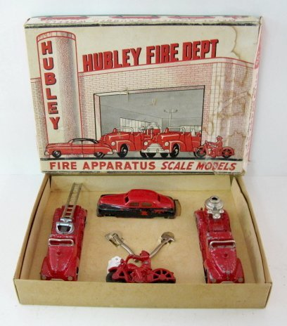 19: Hubley Kiddie Toy Fire Apparatus No.30