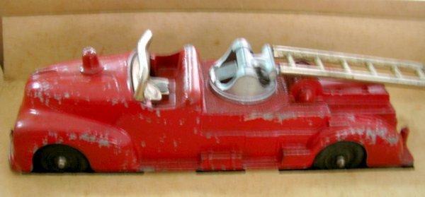 19: Hubley Kiddie Toy Fire Apparatus No.30 - 6