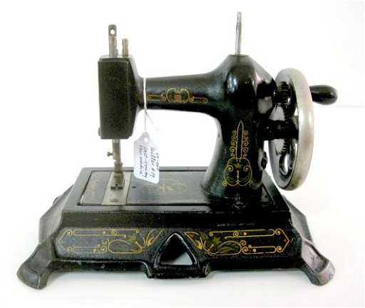40A Cast Iron Muller 40 Toy Sewing Machine Awesome Muller Sewing Machine
