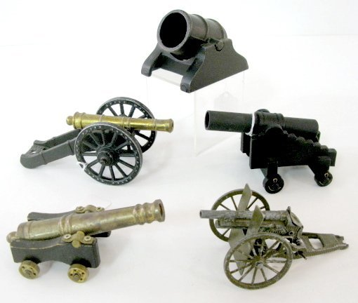 355: 5 Toy Cannons, Pencraft, Kennesaw & Others
