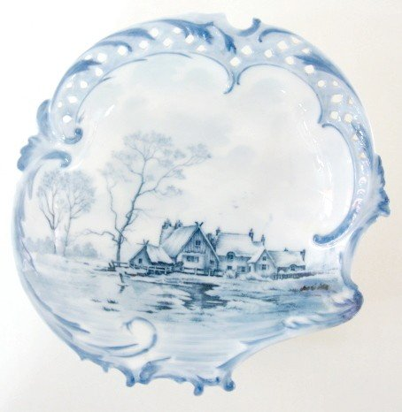 11: R&C Delft Bowl by Philip Rosenthal & Co.