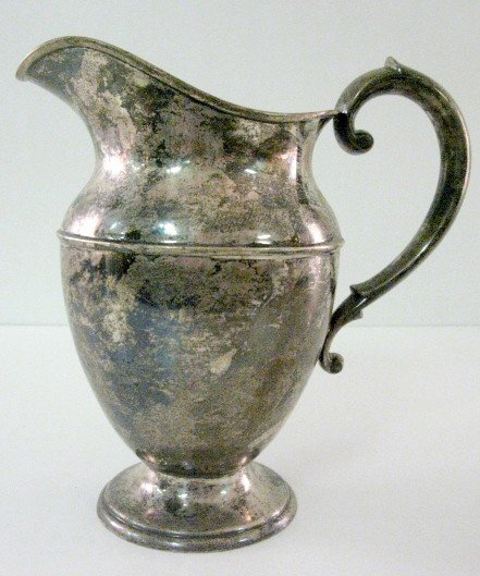 192: Dunkirk Sterling Silver Water Pitcher