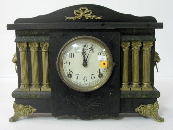 9: Sessions Mantle Clock w/Columns