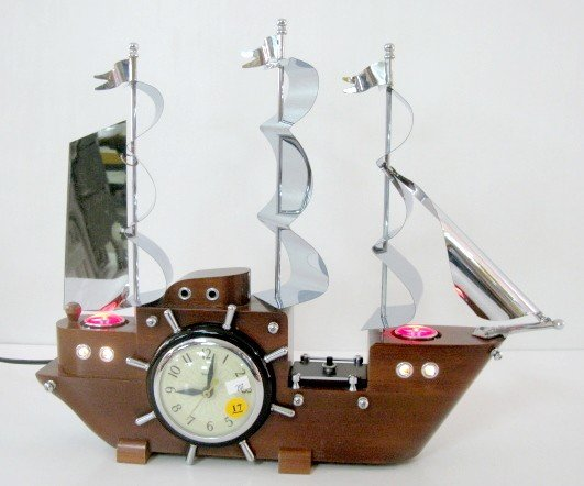 17: United Model 811 Electric Ship Clock
