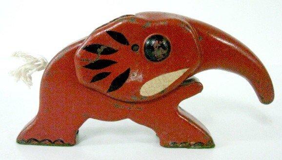 16: Cast Iron Elephant Nutcracker