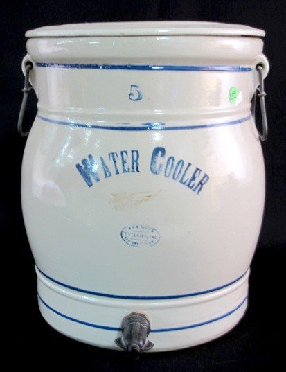 245: Red Wing 5 Gallon Stoneware Water Cooler