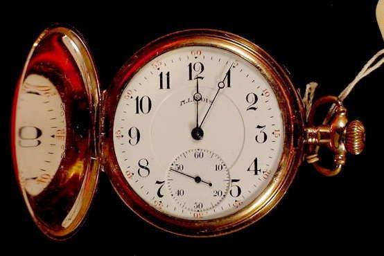 1010: Illinois 19j H.C. Sidewinder Pocket Watch