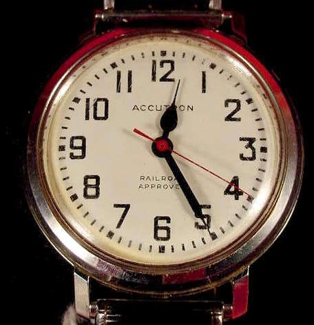 1016: Bulova Accutron Railroad Approved Wrist Watch NR