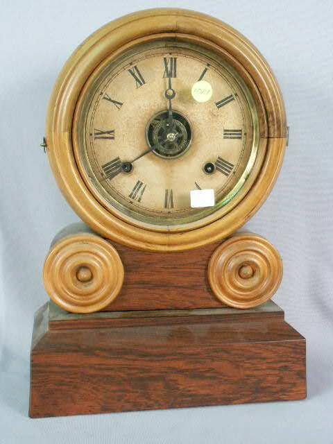 1019: Elias Ingraham 1892 Green Clock NR