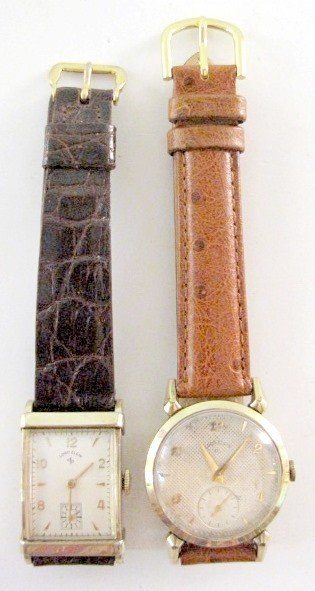 7: 2 Lord Elgin 21J SW Wrist Watches