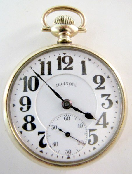 23: Illinois Bunn Special 21J 16S OF SBB Pocket Watch