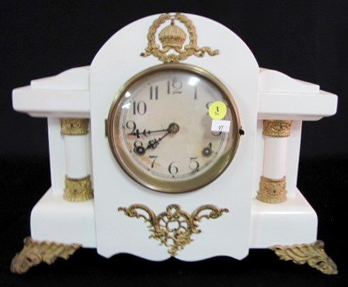 3: Mahogany Waterbury Duarte Mantle Clock