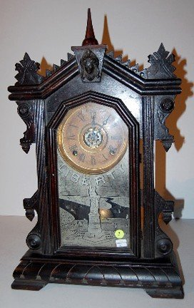 7: E. Ingraham Kitchen Clock w/Alarm